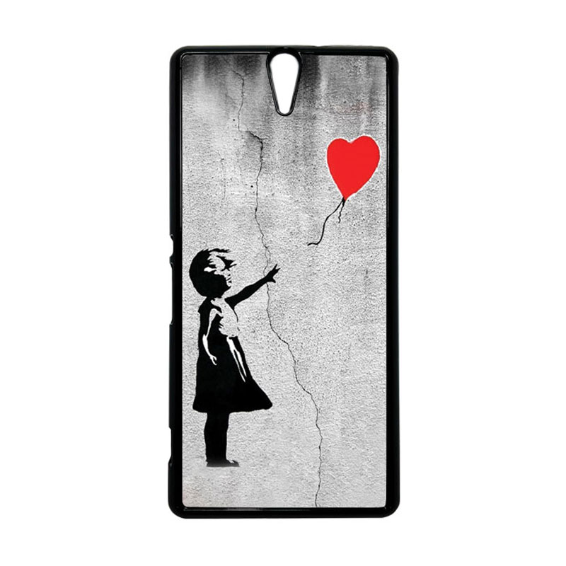 Heavencase Motif Girl Woman 01 Hardcase Casing for Sony Xperia C5 Ultra - Hitam