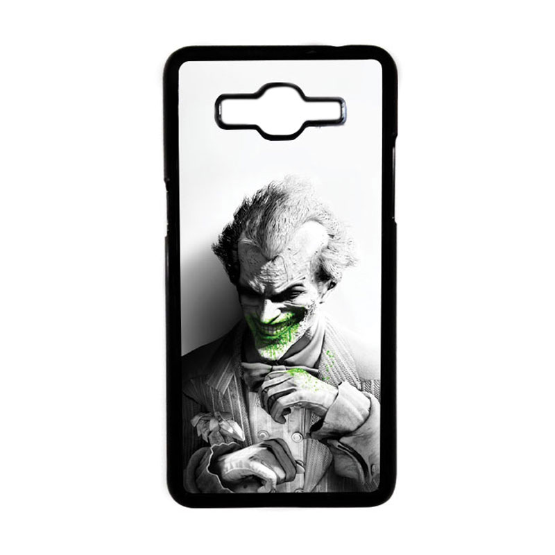 HEAVENCASE Motif Joker 01 Hardcase Casing for Samsung Galaxy Grand Prime - Hitam