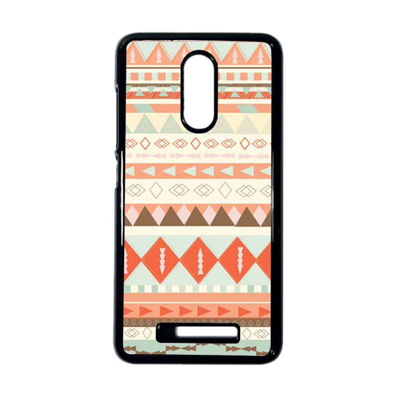 HEAVENCASE Motif Kayu Tribal 10 Hitam Hardcase Casing Xiaomi Redmi Note 3