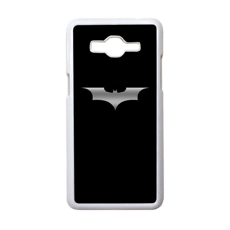 HEAVENCASE Motif Superhero Batman 03 Casing for Samsung Galaxy Grand Prime - Putih