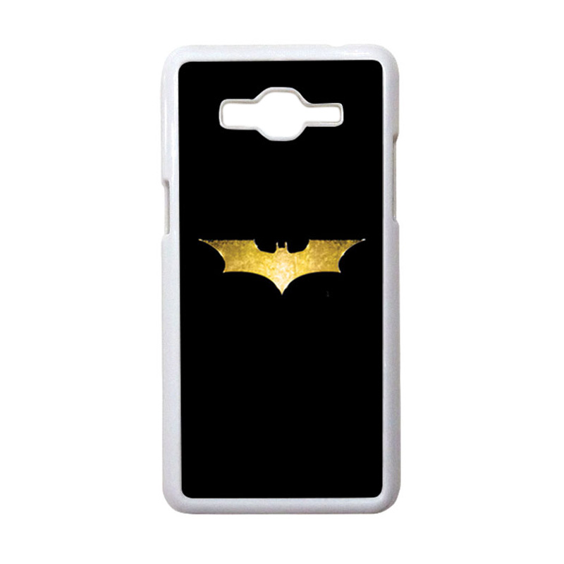 HEAVENCASE Motif Superhero Batman 08 Casing for Samsung Galaxy Grand Prime - Putih
