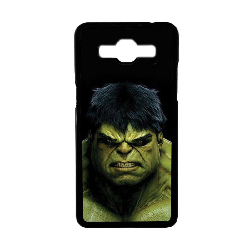Heavencase Motif Superhero Hulk 01 Hardcase Casing for Samsung Galaxy Grand Prime - Hitam