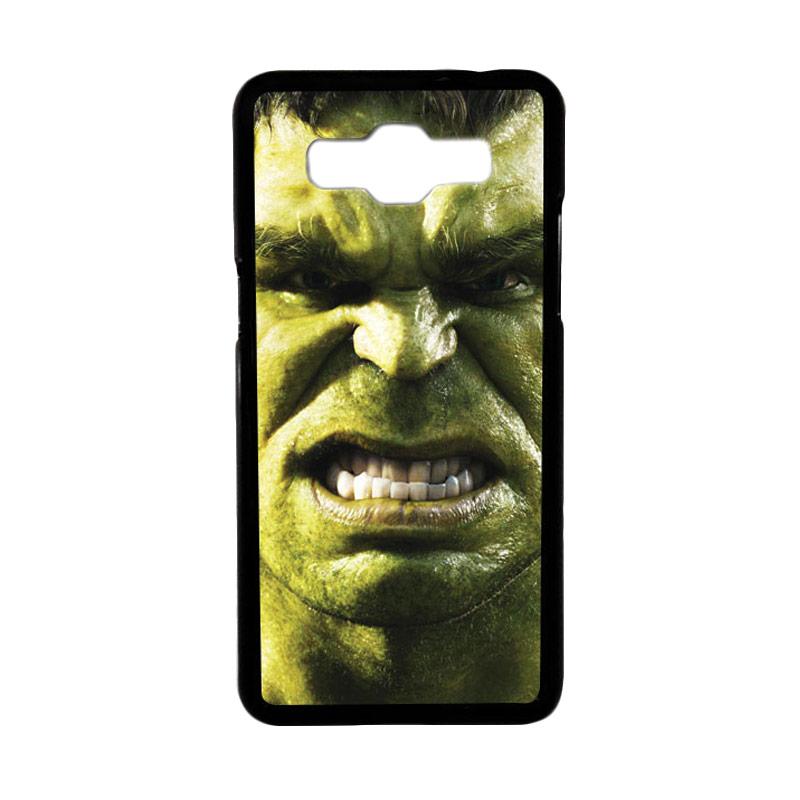 Heavencase Motif Superhero Hulk 02 Hardcase Casing for Samsung Galaxy Grand Prime - Hitam