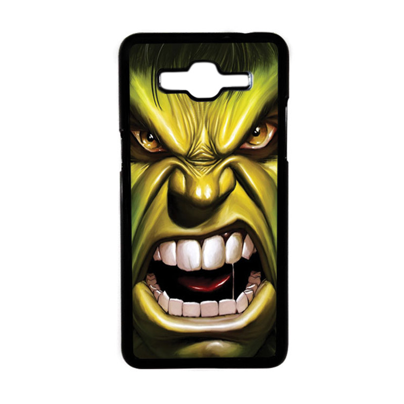 Heavencase Motif Superhero Hulk 03 Hardcase Casing for Samsung Galaxy Grand Prime - Hitam