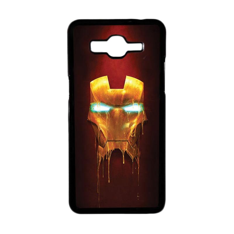 Heavencase Motif Superhero Ironman 01 Hardcase Casing for Samsung Galaxy Grand Prime - Hitam