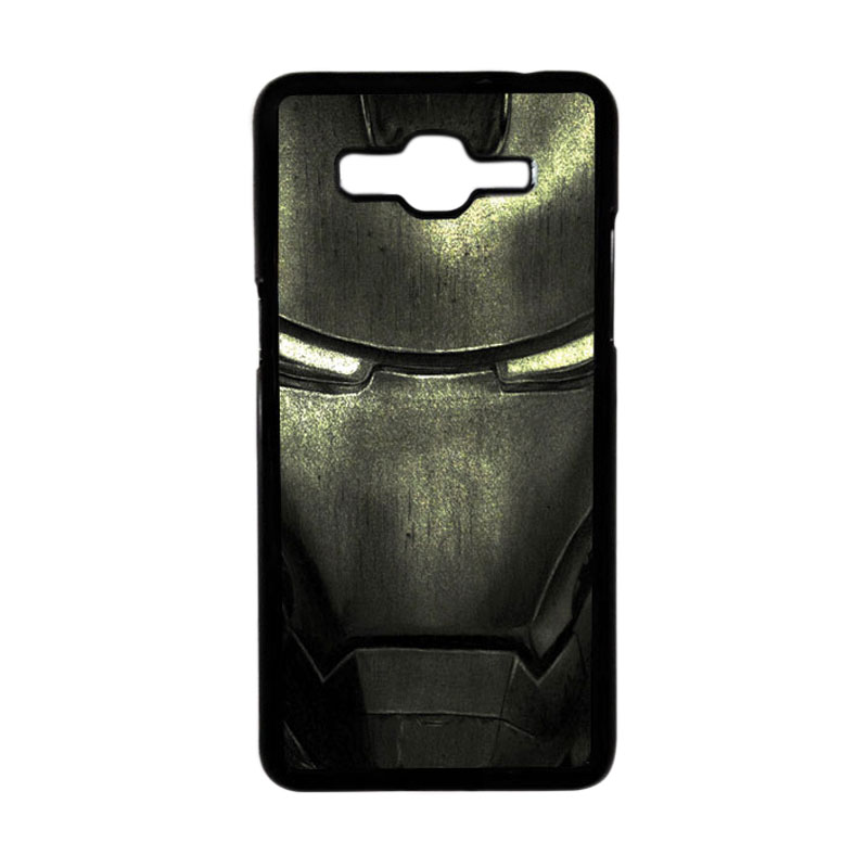 Heavencase Motif Superhero Ironman 03 Hardcase Casing for Samsung Galaxy Grand Prime - Hitam
