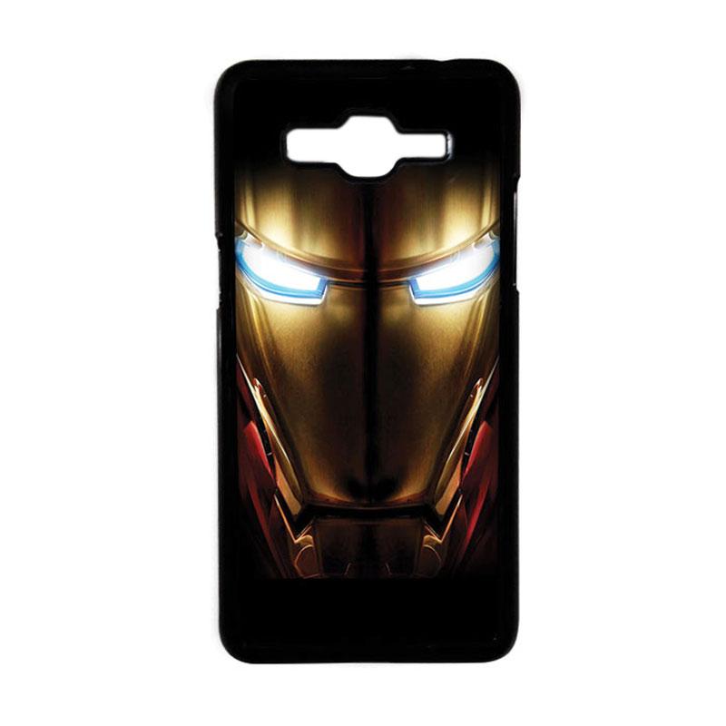 Heavencase Motif Superhero Ironman 04 Hardcase Casing for Samsung Galaxy Grand Prime - Hitam