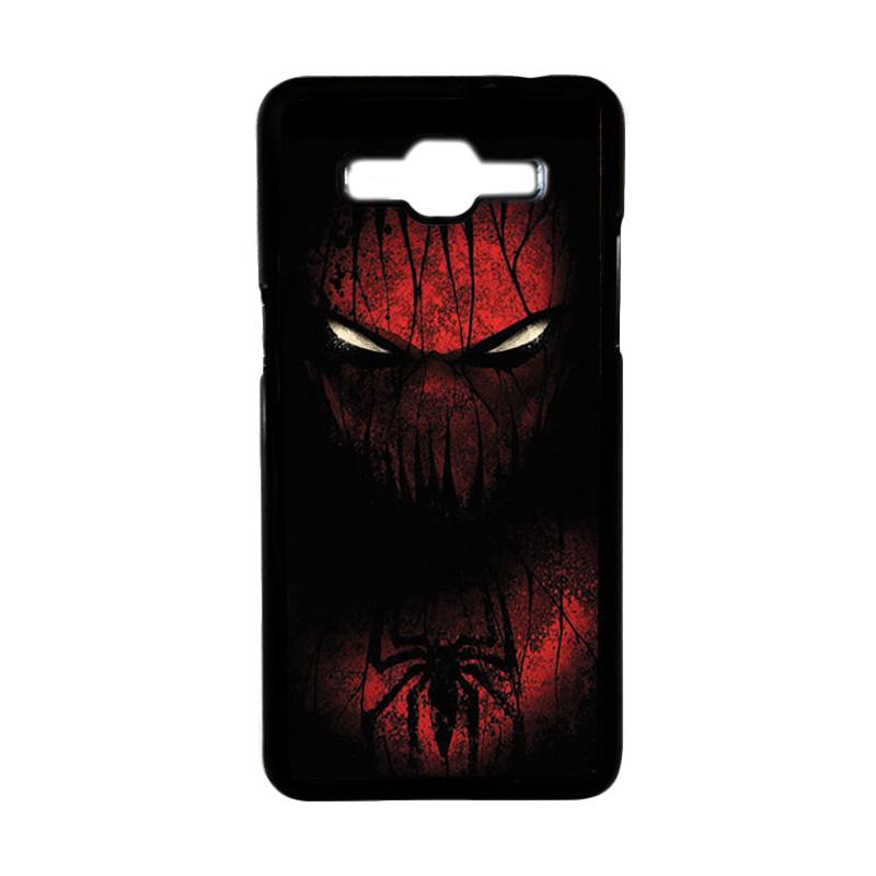 HEAVENCASE Motif Superhero Spiderman 02 Hardcase Casing for Samsung Galaxy Grand Prime - Hitam