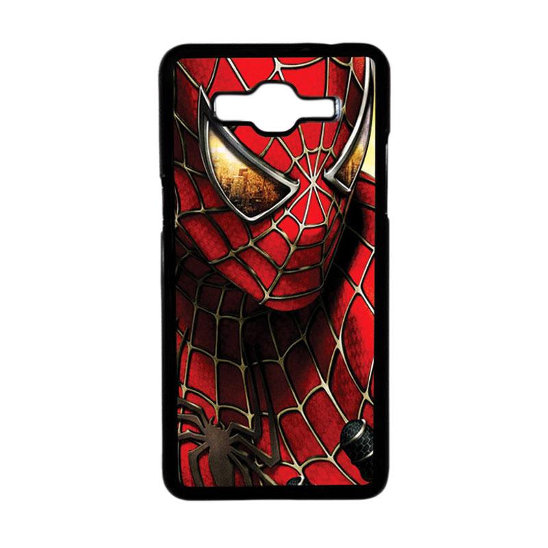HEAVENCASE Motif Superhero Spiderman 04 Hardcase Casing for Samsung Galaxy Grand Prime - Hitam