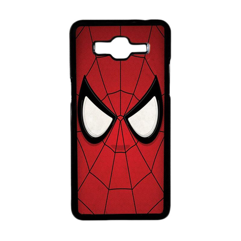 HEAVENCASE Motif Superhero Spiderman 07 Hardcase Casing for Samsung Galaxy Grand Prime - Hitam
