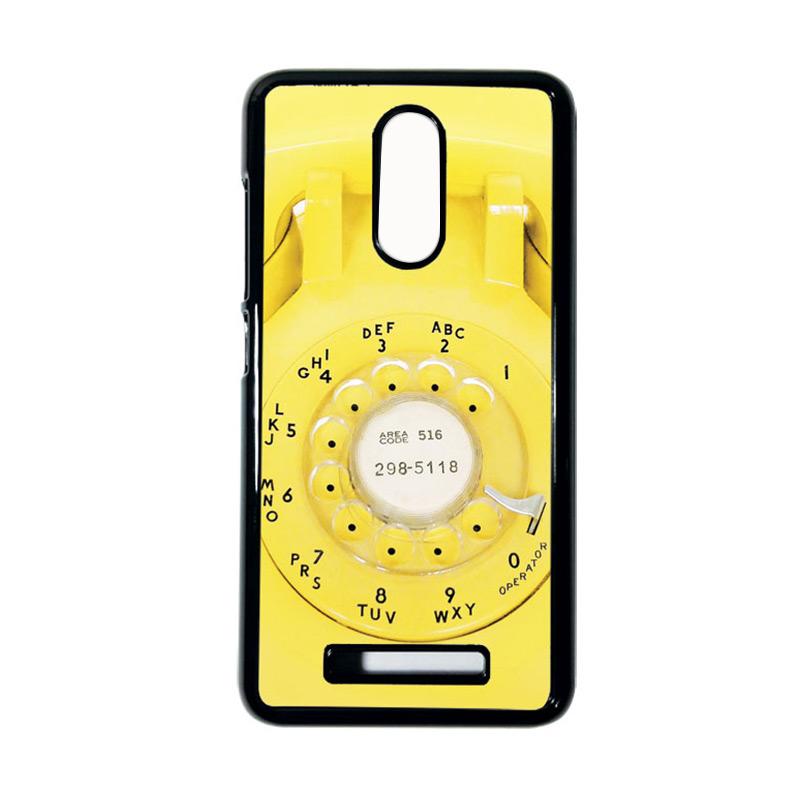 Heavencase Motif Telephone 08 Casing for Xiaomi Redmi Note 3 - Hitam
