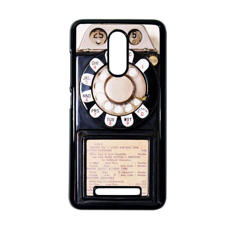 Heavencase Motif Telephone 10 Casing for Xiaomi Redmi Note 3 - Hitam