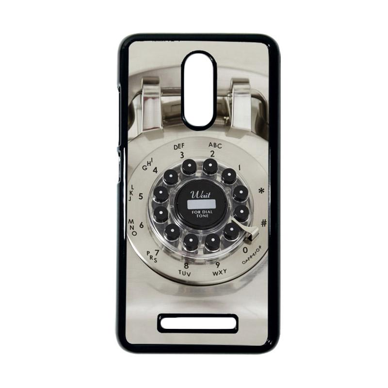 Heavencase Motif Telephone 11 Casing for Xiaomi Redmi Note 3 - Hitam