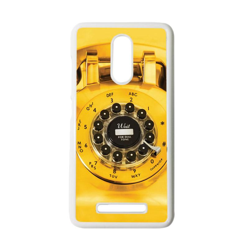 HEAVENCASE Motif Telephone 12 Casing for Xiaomi Redmi Note 3 - Putih