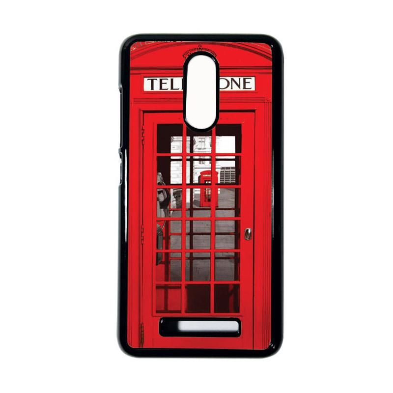Heavencase Motif Telephone 13 Casing for Xiaomi Redmi Note 3 - Hitam