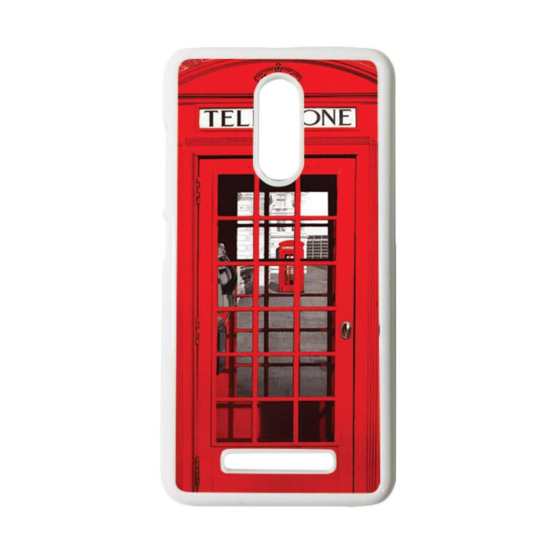 HEAVENCASE Motif Telephone 13 Casing for Xiaomi Redmi Note 3 - Putih