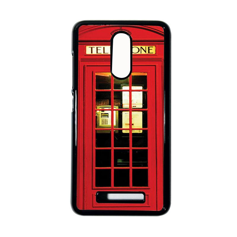 Heavencase Motif Telephone 14 Casing for Xiaomi Redmi Note 3 - Hitam
