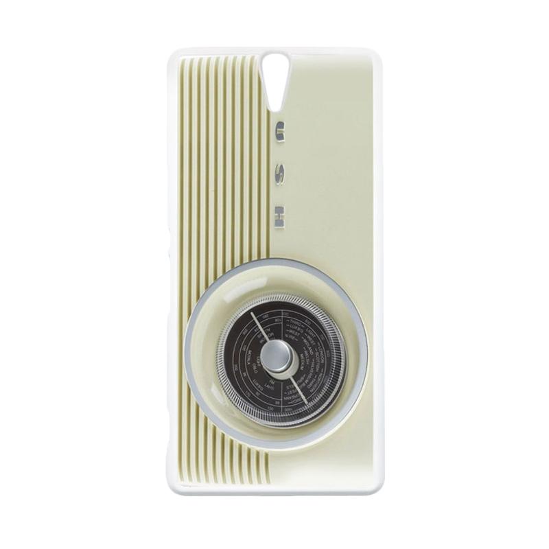 HEAVENCASE Motif Unik Real Stuff 52 Casing for Sony Xperia C5 Ultra - Putih