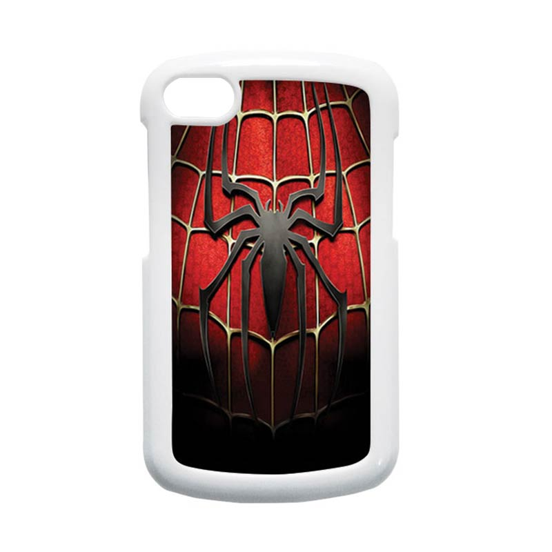 HEAVENCASE Spiderman 01 Hardcase Putih Casing for Blackberry Q10