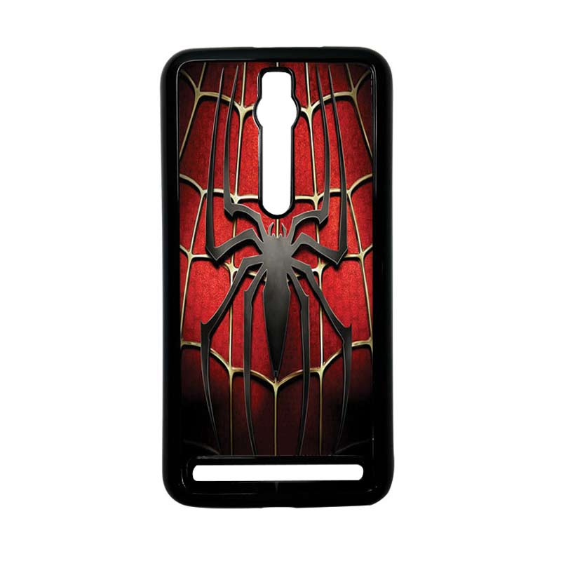 Heavencase Spiderman 01 Hitam Hardcase Casing for Asus Zenfone 2 Ze551ml or Ze550ml