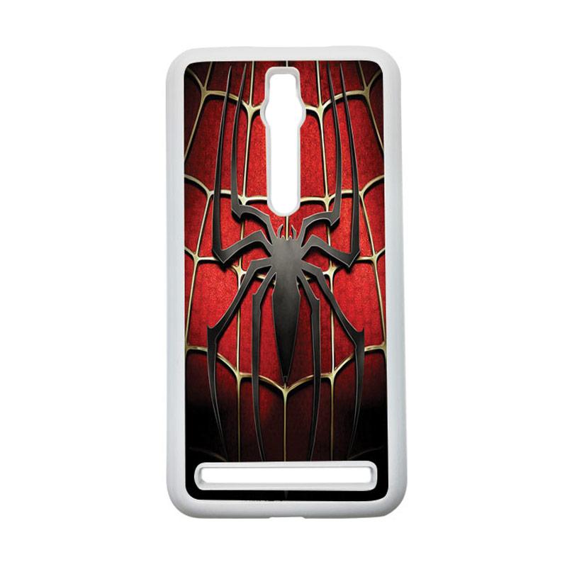 HEAVENCASE Spiderman 01 Hardcase Casing for Asus Zenfone 2 ZE551ML or ZE550ML - Putih