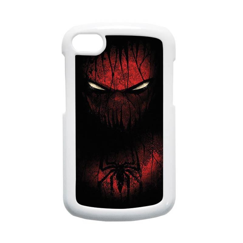 HEAVENCASE Spiderman 02 Hardcase Putih Casing for Blackberry Q10