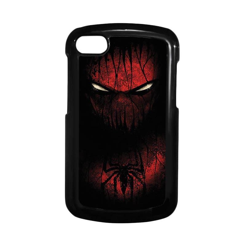 HEAVENCASE Spiderman 02 Hitam Hardcase Casing for Blackberry Q10