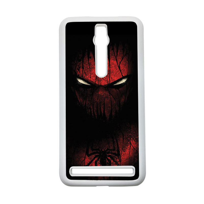 HEAVENCASE Spiderman 02 Hardcase Casing for Asus Zenfone 2 ZE551ML or ZE550ML - Putih