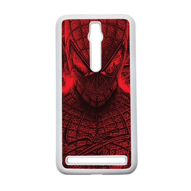 HEAVENCASE Spiderman 03 Hardcase Casing for Asus Zenfone 2 ZE551ML or ZE550ML - Putih