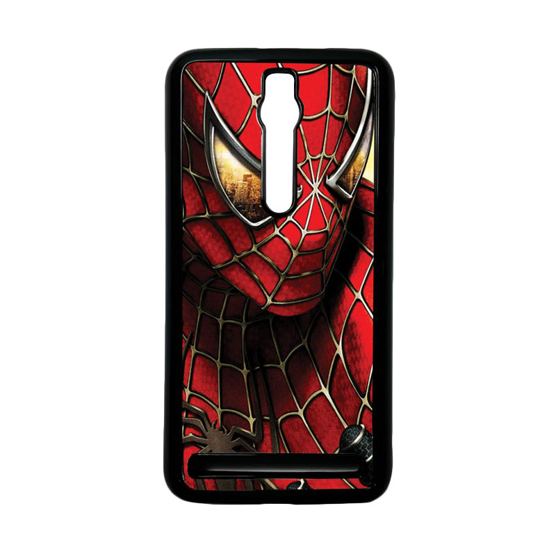 Heavencase Spiderman 04 Hardcase Casing for Asus Zenfone 2 ZE551ML or ZE550ML - Hitam
