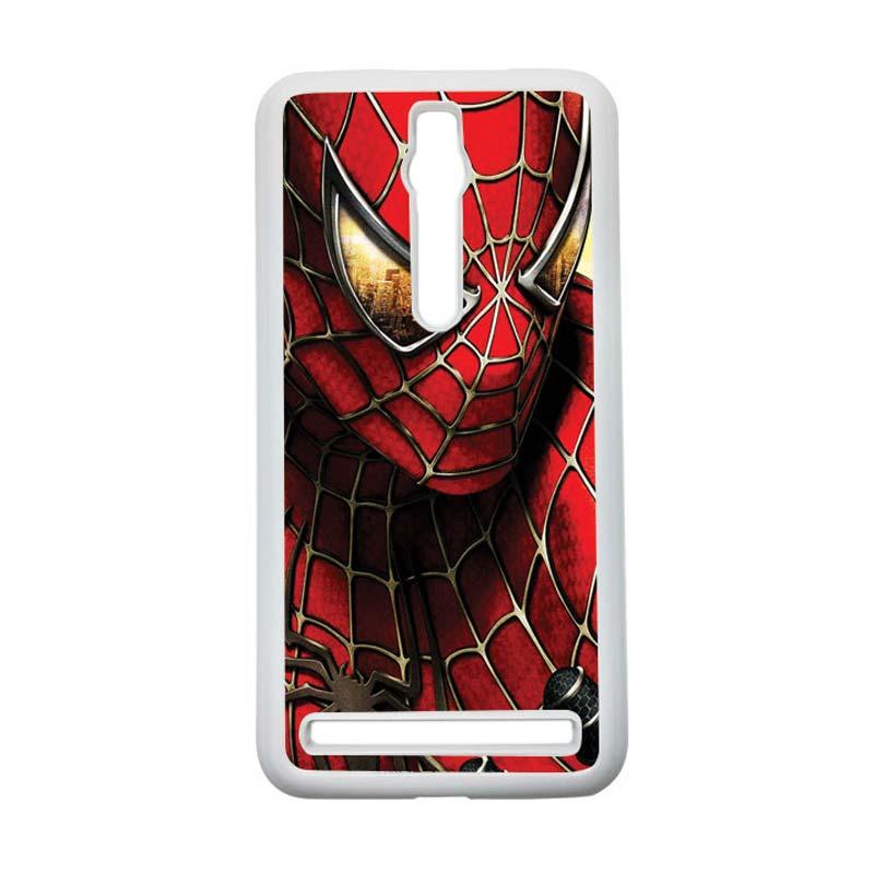 HEAVENCASE Spiderman 04 Hardcase Casing for Asus Zenfone 2 ZE551ML or ZE550ML - Putih