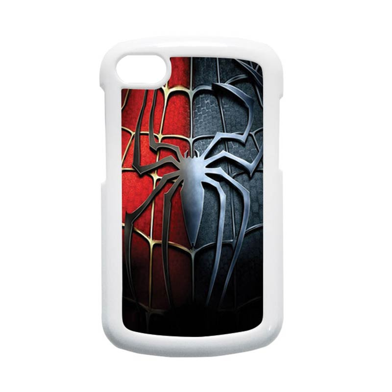 HEAVENCASE Spiderman 05 Hardcase Putih Casing for Blackberry Q10
