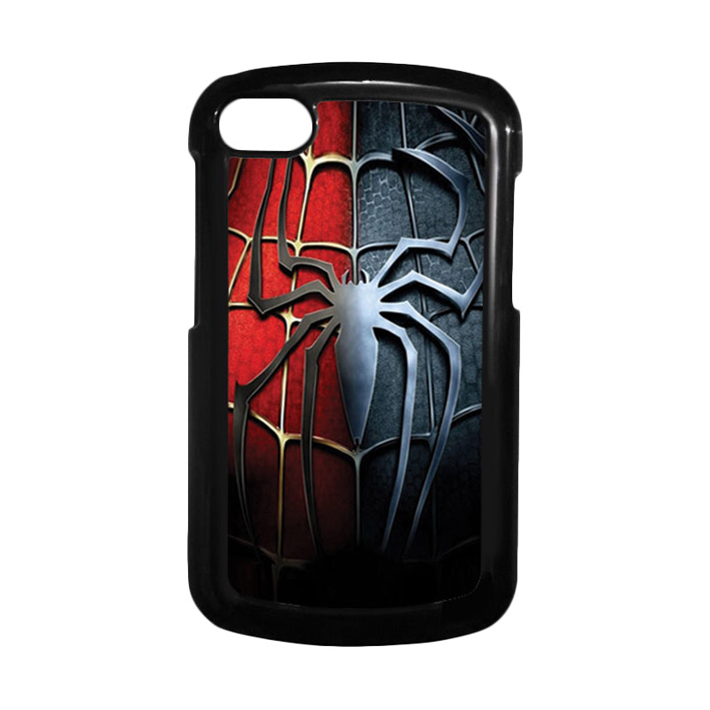 HEAVENCASE Spiderman 05 Hitam Hardcase Casing for Blackberry Q10