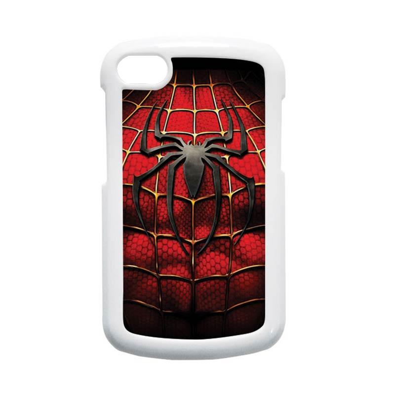 HEAVENCASE Spiderman 08 Hardcase Putih Casing for Blackberry Q10