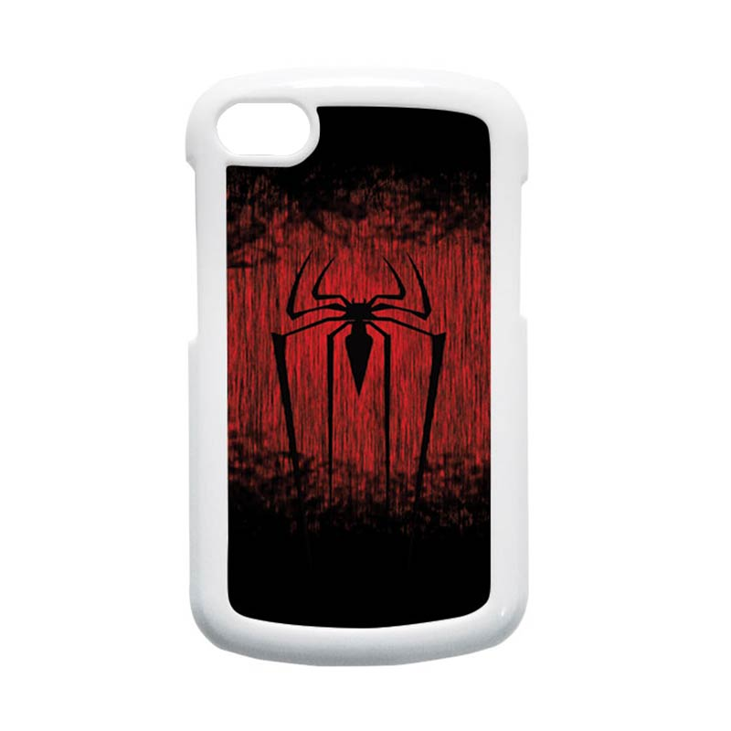 HEAVENCASE Spiderman 09 Hardcase Putih Casing for Blackberry Q10