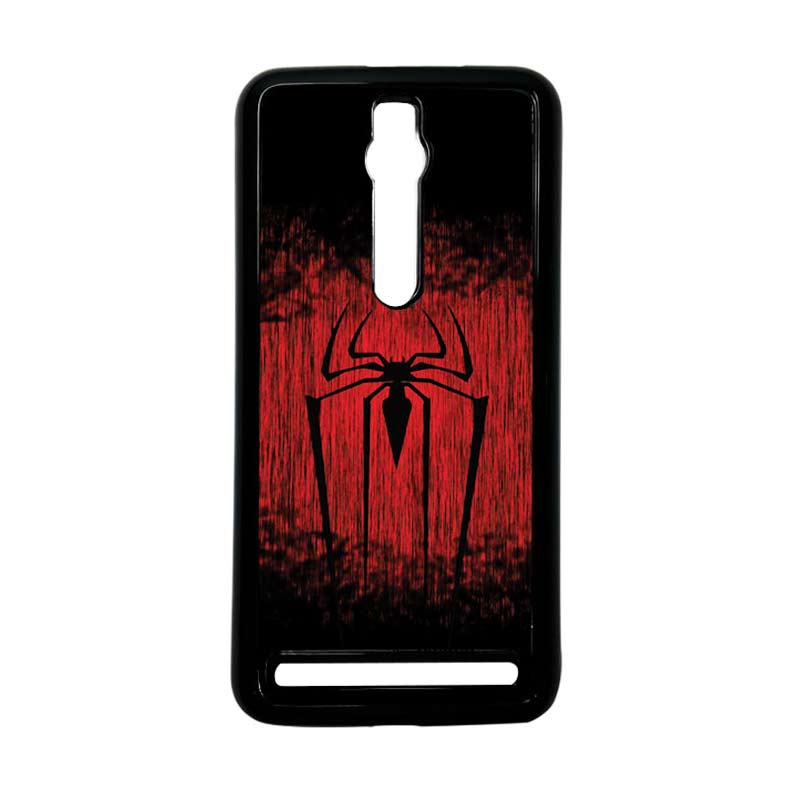 Heavencase Spiderman 09 Hitam Hardcase Casing for Asus Zenfone 2 Ze551ML or ZE550ML