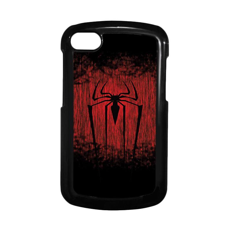 HEAVENCASE Spiderman 09 Hitam Hardcase Casing for Blackberry Q10
