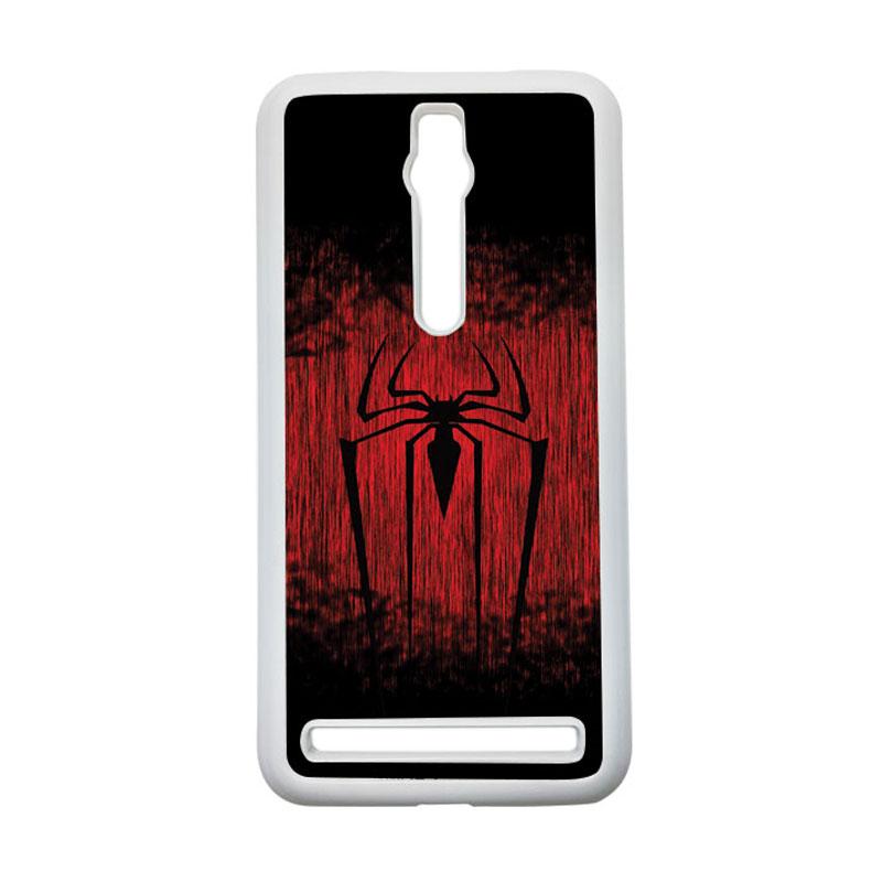 HEAVENCASE Spiderman 09 Hardcase Casing for Asus Zenfone 2 ZE551ML or ZE550ML - Putih