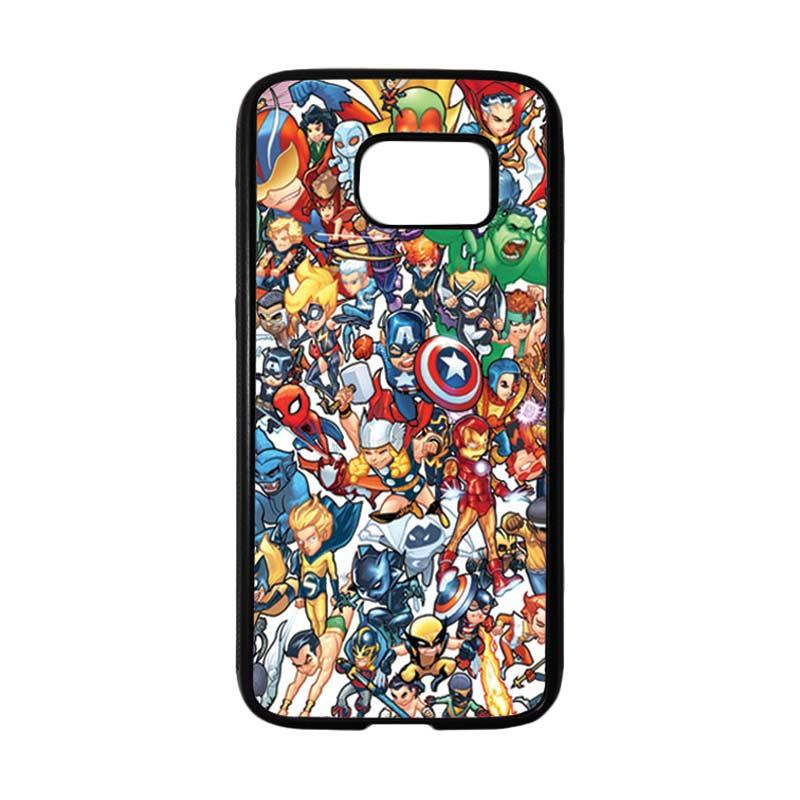 HEAVENCASE Superhero Avengers 02 Casing for Samsung Galaxy S7 - Hitam