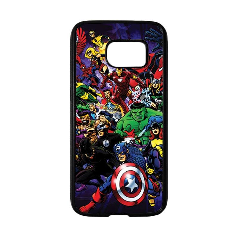 HEAVENCASE Superhero Avengers 03 Casing for Samsung Galaxy S7 - Hitam