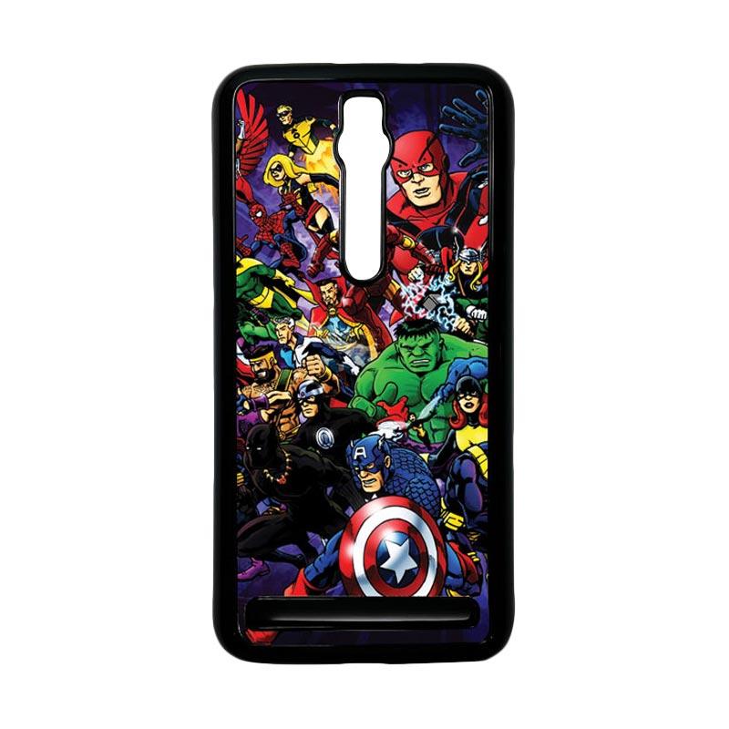 Heavencase Superhero Avengers 03 Hardcase Casing for Asus Zenfone 2 ZE551ML or ZE550ML - Hitam