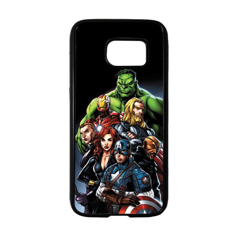 HEAVENCASE Superhero Avengers 05 Casing for Samsung Galaxy S7 - Hitam