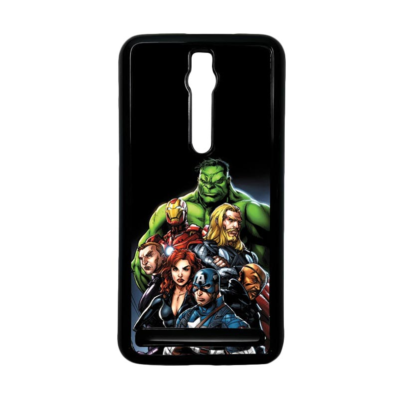 Heavencase Superhero Avengers 05 Hardcase Casing for Asus Zenfone 2 ZE551ML or ZE550ML - Hitam