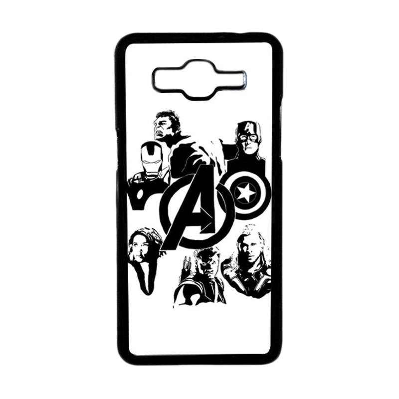 HEAVENCASE Superhero Avengers 06 Hardcase Casing for Samsung Galaxy Grand Prime - Hitam