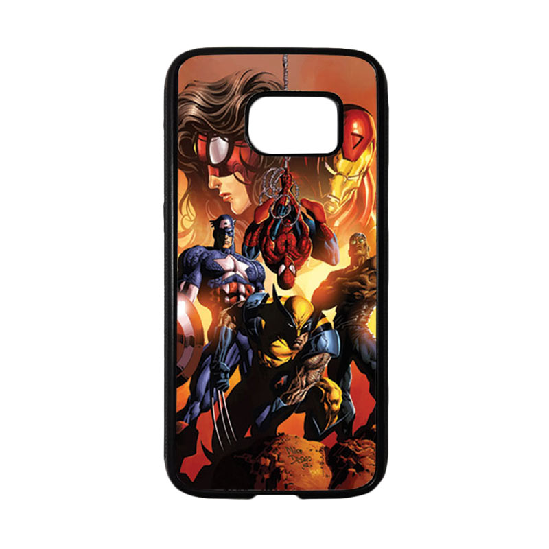HEAVENCASE Superhero Avengers 09 Casing for Samsung Galaxy S7 - Hitam