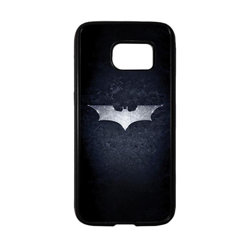 HEAVENCASE Superhero Batman 01 Casing for Samsung Galaxy S7 - Hitam