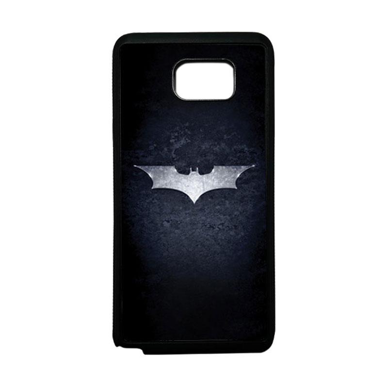 HEAVENCASE Superhero Batman 01 Softcase TPU Bumper Casing for Samsung Galaxy Note 5 - Hitam