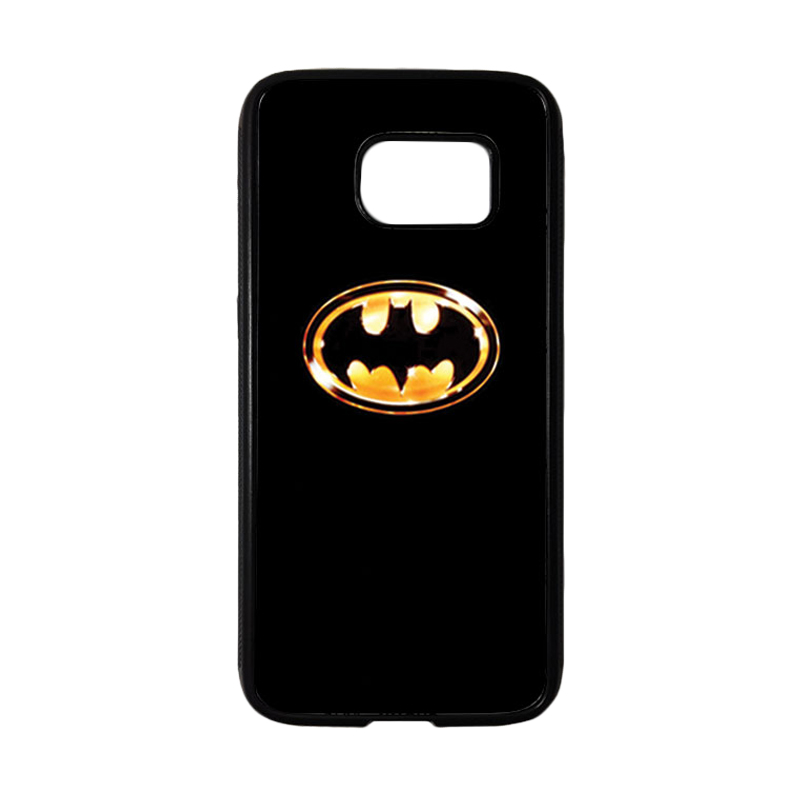 HEAVENCASE Superhero Batman 02 Casing for Samsung Galaxy S7 - Hitam
