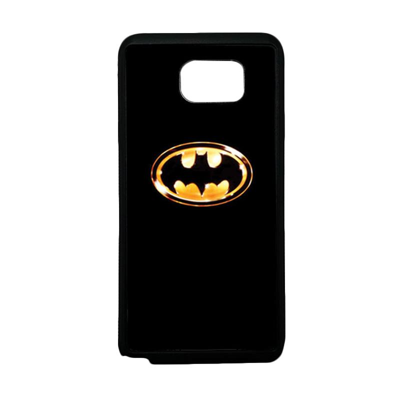 HEAVENCASE Superhero Batman 02 Softcase TPU Bumper Casing for Samsung Galaxy Note 5 - Hitam