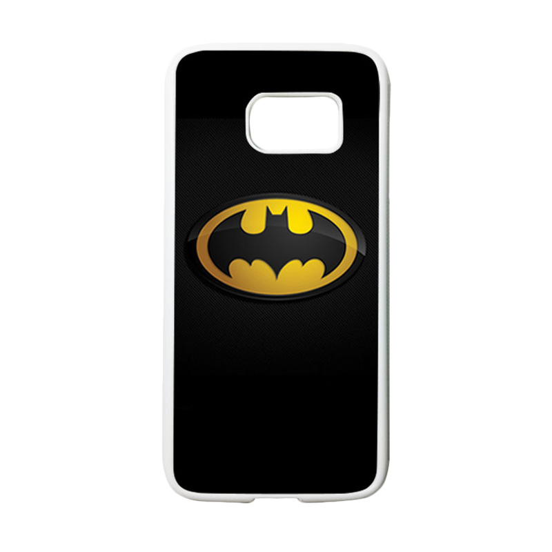 HEAVENCASE Superhero Batman 04 Casing for Samsung Galaxy S7 - Putih